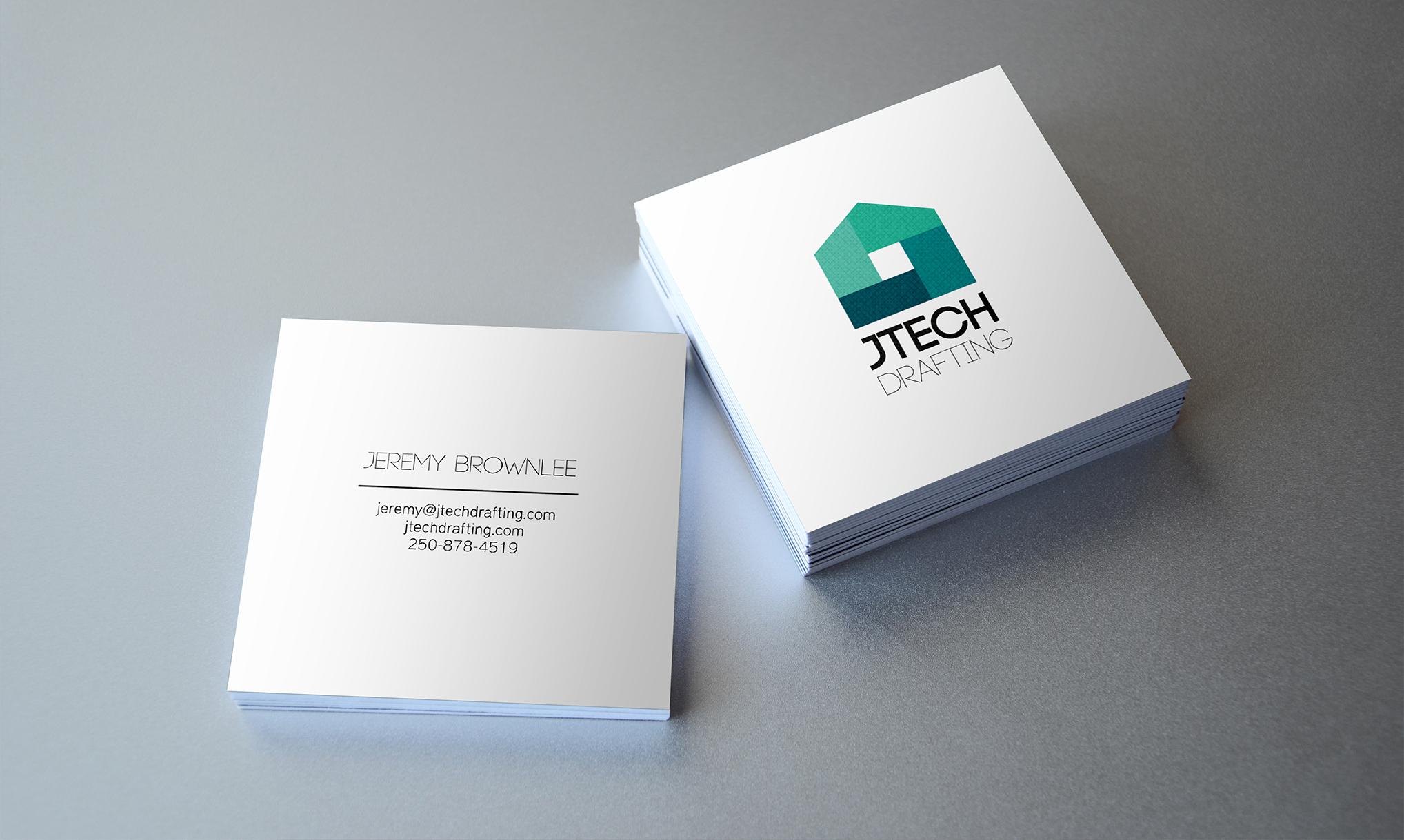 Jtech business card portfolio