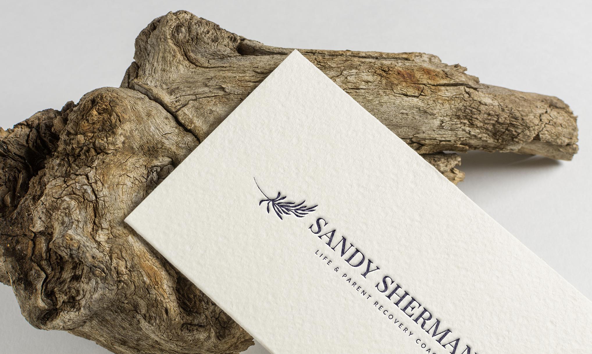 Sandy Sherman logo portfolio