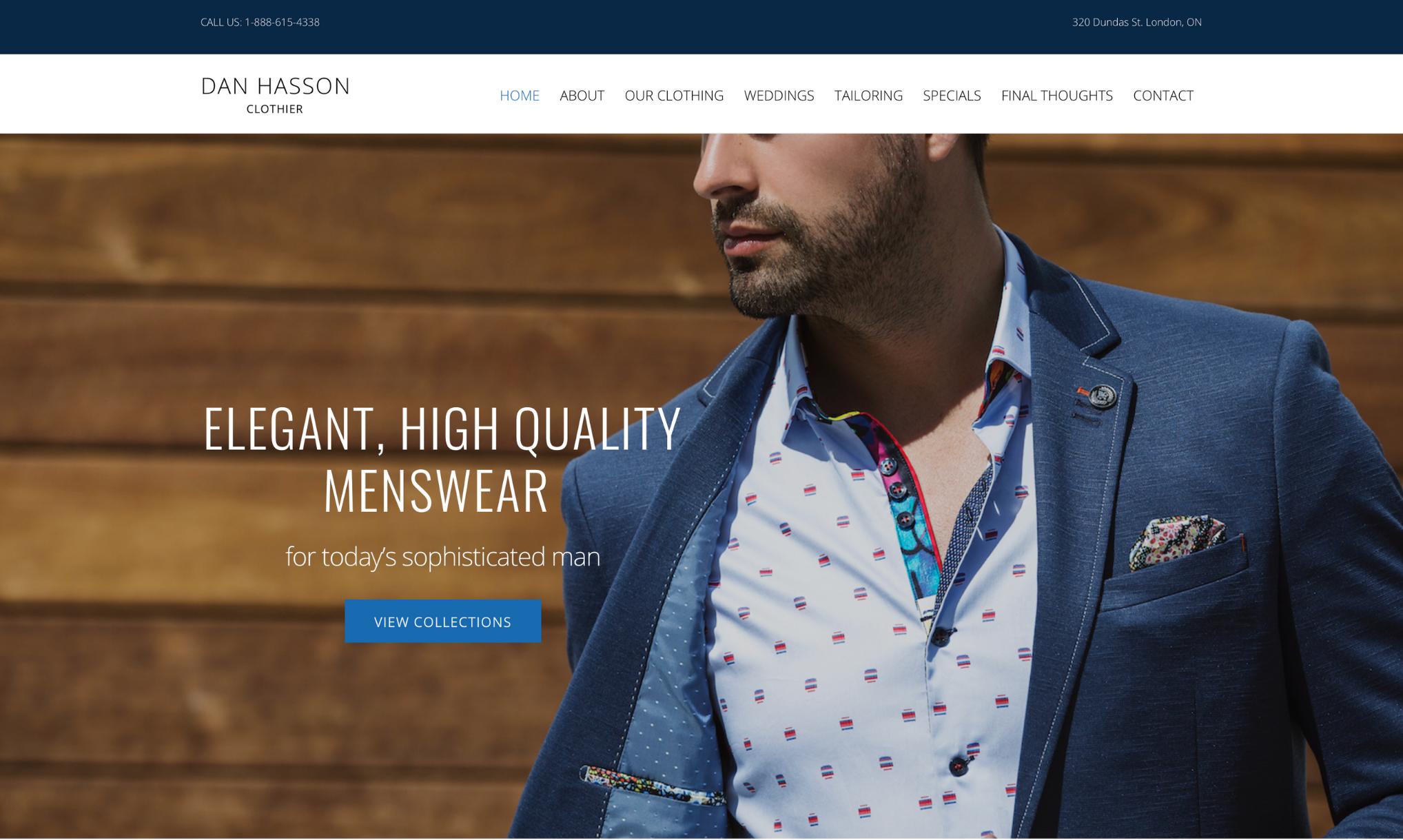 Dan Hasson London Web Design