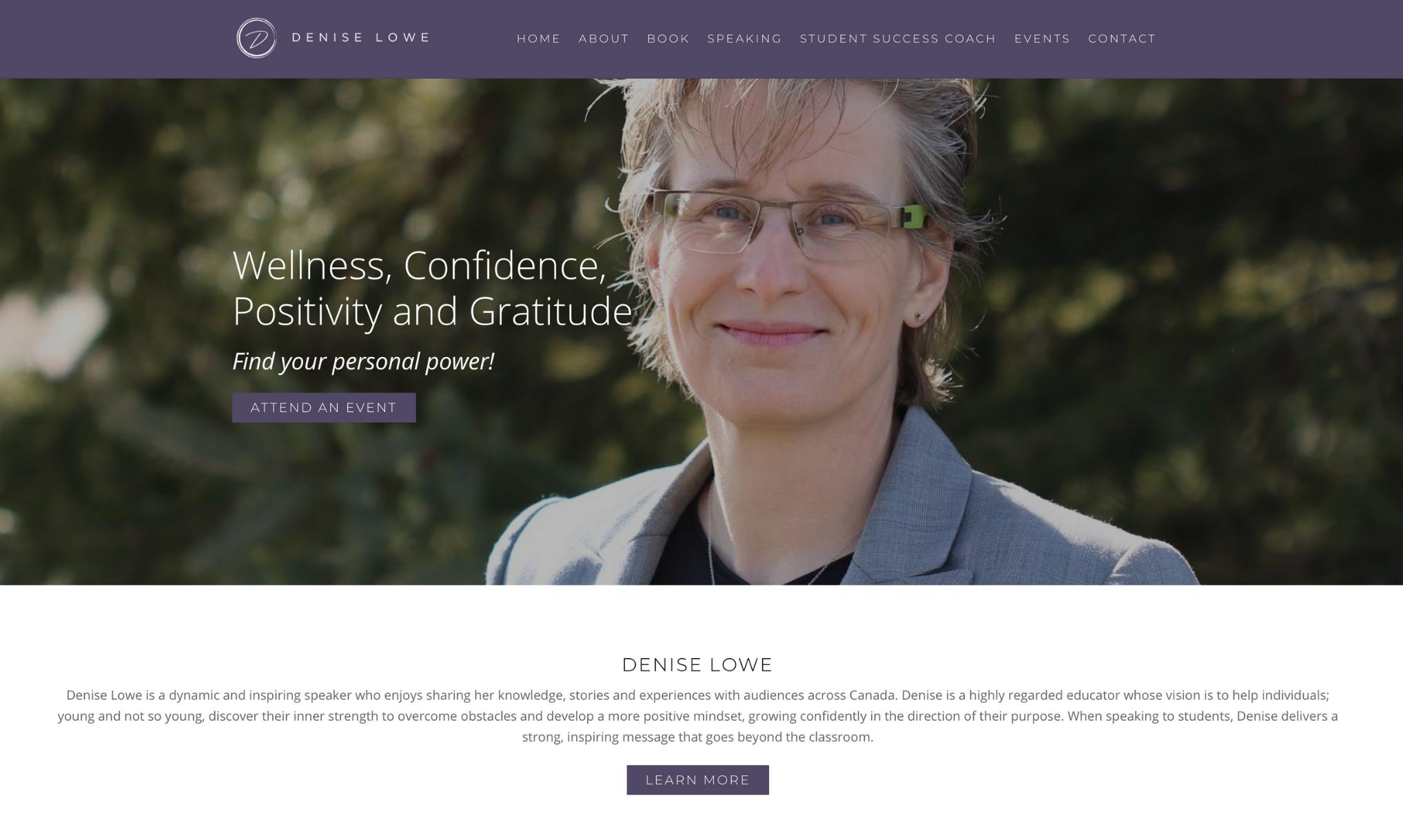 Denise Lowe Guelph Web Design