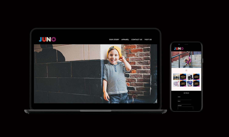 Juno Responsive Web Design