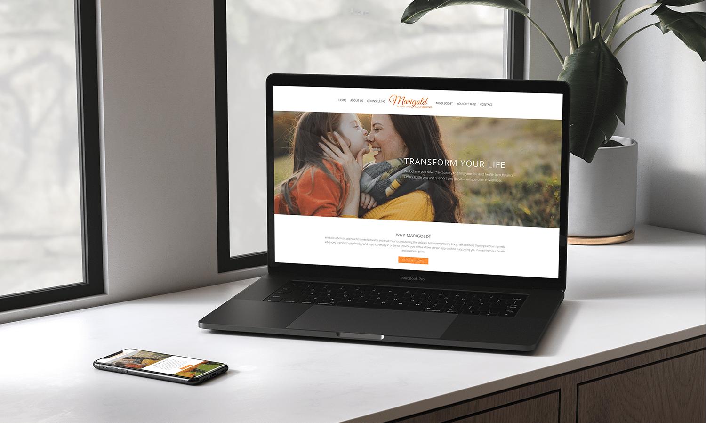 Marigold Whole Life Web Design and Development