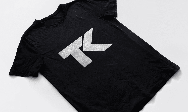 TK Simple Logo Design