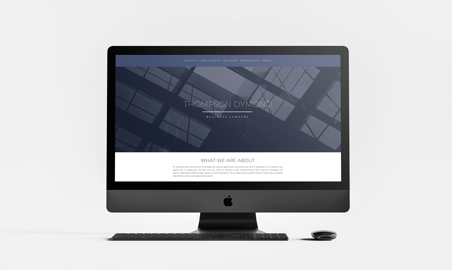 Thompson Dymond Web Design
